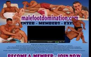 MaleFootDomination