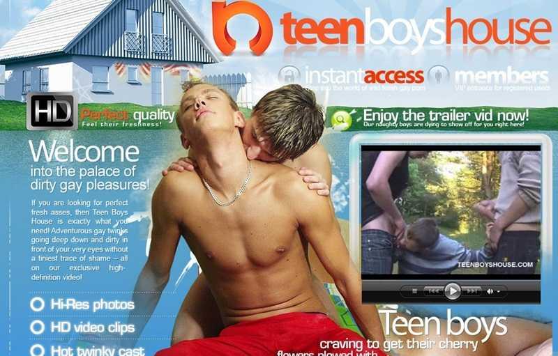 Teen Boys House