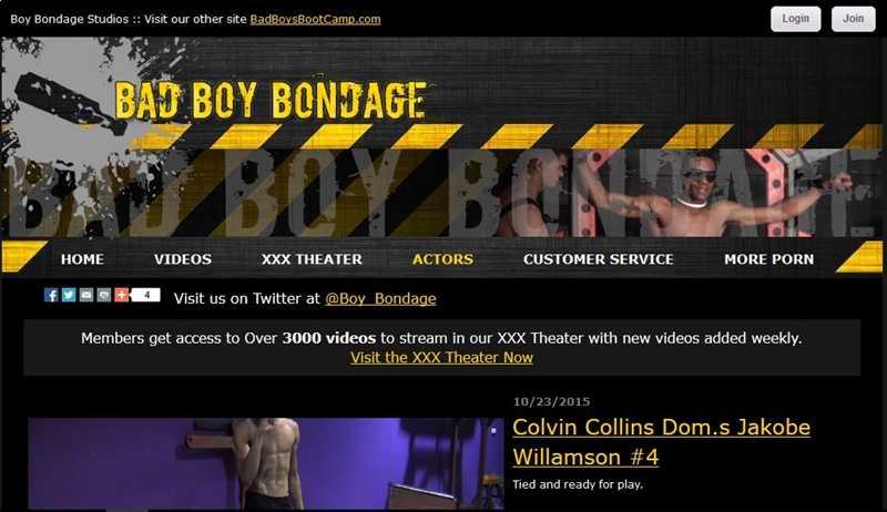 MyGayPornListBadBoyBondage1 - Bad Boy Bondage