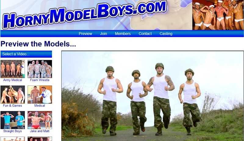 Horny Model Boys