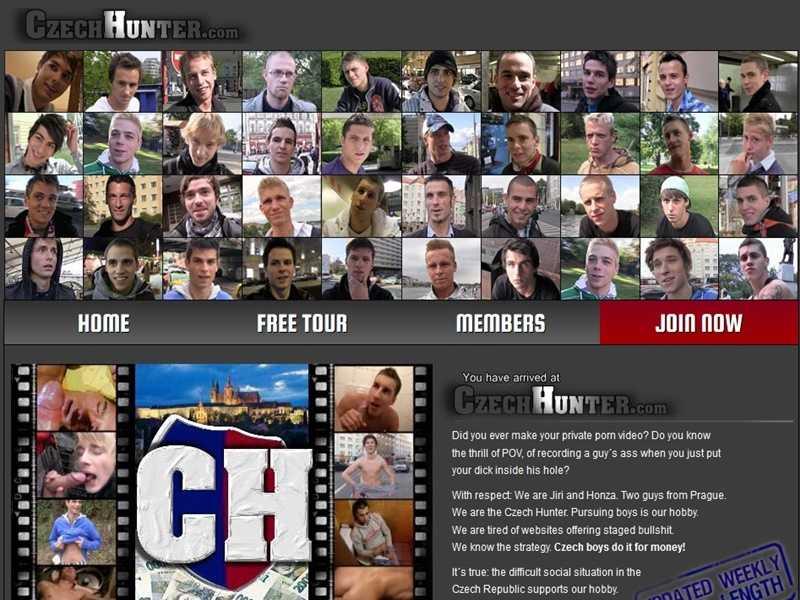 MyGayPornList CzechHunter GayPornSiteReview 001 gay porn sex gallery pics video photo 1 - Czech Hunter