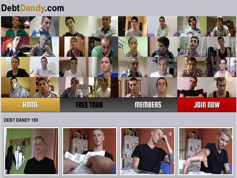 MyGayPornList DebtDandy GayPornSiteReview 001 gay porn sex gallery pics video photo 1 - Debt Dandy