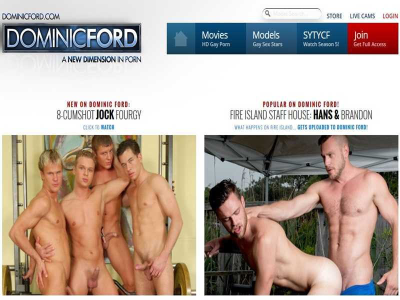 MyGayPornList DominicFord GayPornSiteReview 001 gay porn sex gallery pics video photo 1 - Dominic Ford