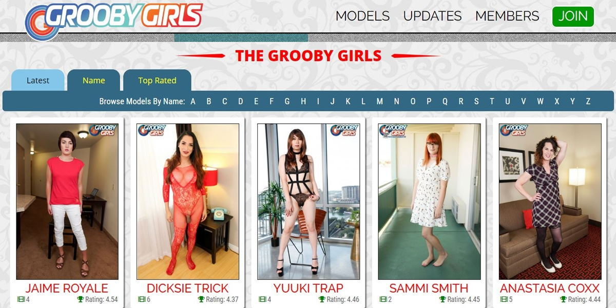 Grooby Girls Shemale Trans MyGayPornSite 002 Gay Porn Reviews - Grooby Girls (formerly Shemale Yum)