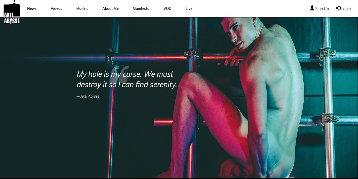 Axel Abysse Gay Porn Site Review MyGayPornList 001 Pics image gallery - Axel Abysse