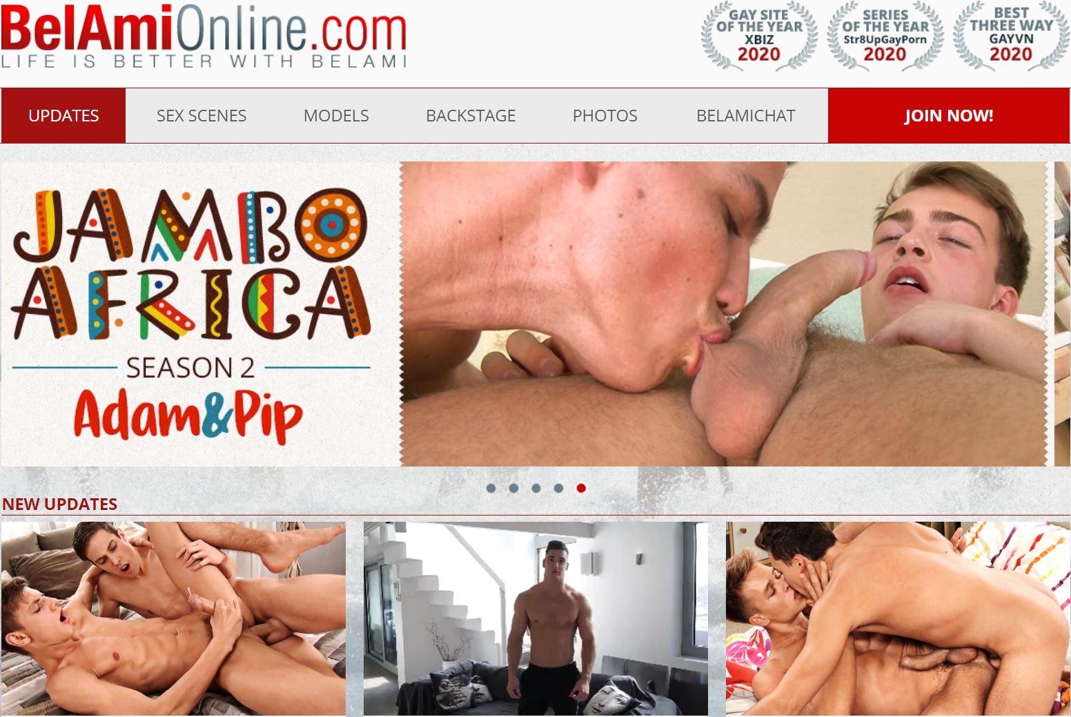 Belami Online Site Review My Gay Porn List - Belami Online