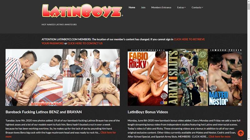 Latin Boyz Site Review MyGayPornList 001 gay porn pics - Latin Boyz