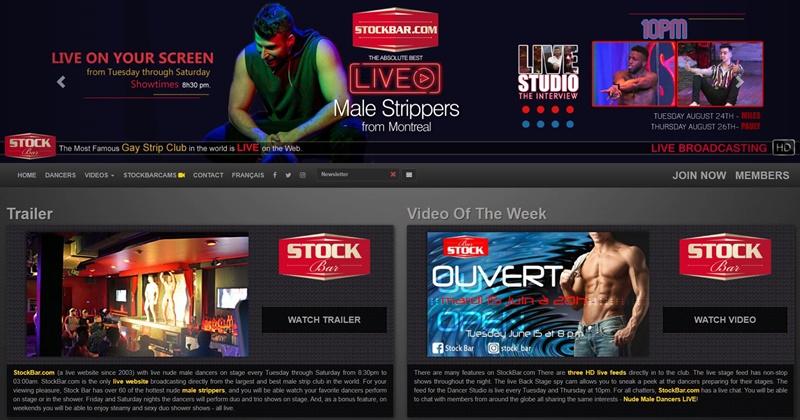 Stock Bar Honest Gay Porn Site Review - Stock Bar