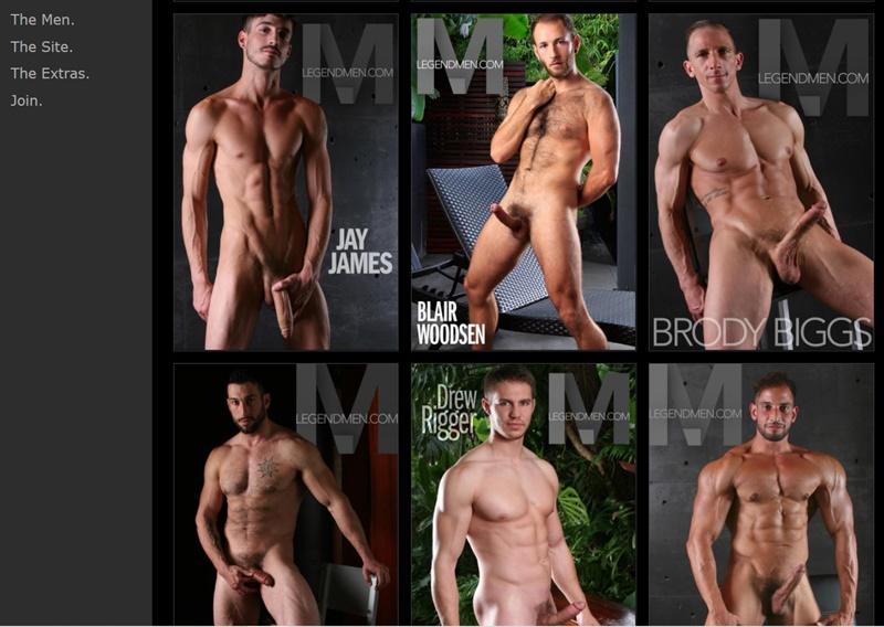 Ron Legend Naked Muscled Hunks - Legend Men