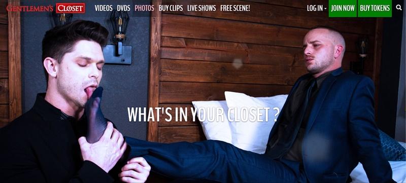 Gentlemans Closet Home Page Honest Gay Porn Site Review 1 - Gentlemen's Closet