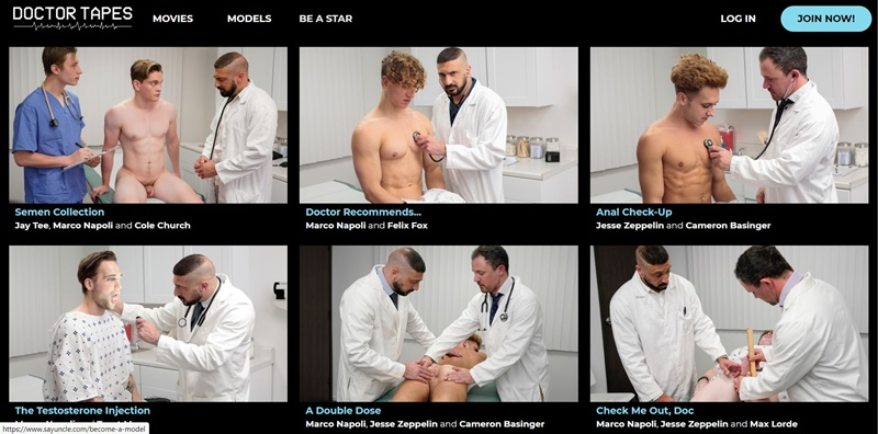 Doctor Tapes Say Uncle Network Honest Gay Porn Site Review 1 - Doctor Tapes